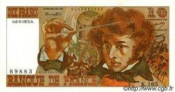 10 Francs BERLIOZ FRANCE  1975 F.63.09 NEUF