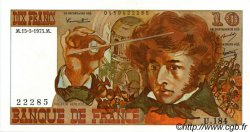 10 Francs BERLIOZ FRANCE  1975 F.63.10 SPL+