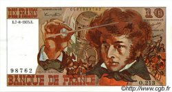 10 Francs BERLIOZ FRANCE  1975 F.63.12 SUP à SPL
