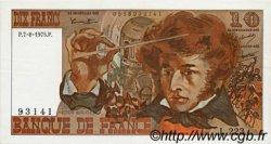 10 Francs BERLIOZ FRANCE  1975 F.63.12 pr.NEUF