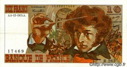 10 Francs BERLIOZ FRANCE  1975 F.63.15 SUP