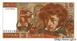 10 Francs BERLIOZ FRANCE  1976 F.63.20 pr.NEUF