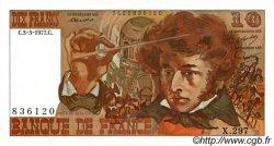 10 Francs BERLIOZ FRANCE  1977 F.63.21 pr.SPL