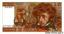 10 Francs BERLIOZ FRANCE  1977 F.63.22 SPL+