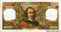 100 Francs CORNEILLE FRANCE  1970 F.65.32 TTB
