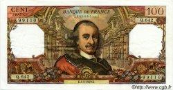 100 Francs CORNEILLE FRANCE  1972 F.65.39 pr.SUP