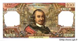 100 Francs CORNEILLE FRANCE  1978 F.65.63 SPL+