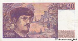 20 Francs DEBUSSY FRANCE  1988 F.66.09 SUP