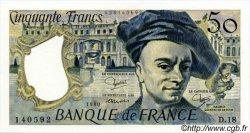 50 Francs QUENTIN DE LA TOUR FRANCE  1980 F.67.06 NEUF