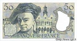50 Francs QUENTIN DE LA TOUR FRANCE  1987 F.67.13 SUP