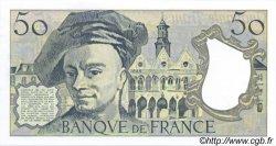 50 Francs QUENTIN DE LA TOUR FRANCE  1991 F.67.17 SUP+ à SPL