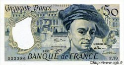 50 Francs QUENTIN DE LA TOUR FRANCE  1992 F.67.18 SUP+