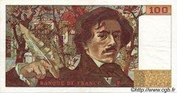 100 Francs DELACROIX FRANCE  1978 F.68.01 TTB à SUP