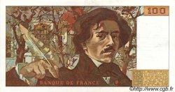 100 Francs DELACROIX FRANCE  1978 F.68.01 SUP+