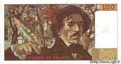 100 Francs DELACROIX FRANCE  1978 F.68.01 SPL
