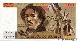 100 Francs DELACROIX FRANCE  1978 F.68.02 TTB à SUP