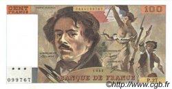 100 Francs DELACROIX modifié FRANCE  1980 F.69.04 pr.NEUF