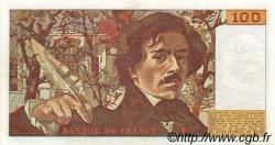 100 Francs DELACROIX modifié FRANCE  1987 F.69.11 SPL