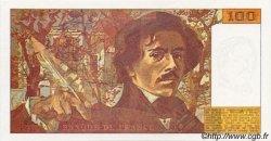 100 Francs DELACROIX imprimé en continu FRANCE  1993 F.69bis-- pr.NEUF