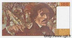 100 Francs DELACROIX imprimé en continu FRANCE  1990 F.69bis.01a pr.NEUF