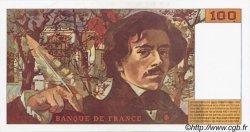 100 Francs DELACROIX 442-1 & 442-2 FRANCE  1994 F.69ter.01b SPL+