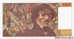 100 Francs DELACROIX 442-1 & 442-2 FRANCE  1995 F.69ter.02b SPL+