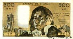 500 Francs PASCAL FRANCE  1972 F.71.08 SUP