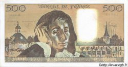 500 Francs PASCAL FRANCE  1990 F.71.45 SPL