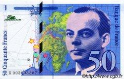 50 Francs SAINT-EXUPÉRY FRANCE  1992 F.72.01 NEUF