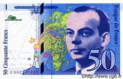 50 Francs SAINT-EXUPÉRY sans mouton FRANCE  1992 F.72ter.01 pr.NEUF