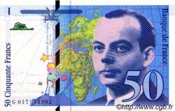 50 Francs SAINT-EXUPÉRY modifié FRANCE  1994 F.73.01 NEUF