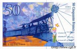 50 Francs SAINT-EXUPÉRY modifié FRANCE  1994 F.73.01 pr.NEUF