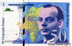 50 Francs SAINT-EXUPÉRY modifié FRANCE  1997 F.73.04 NEUF