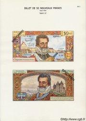 50 Nouveaux Francs HENRI IV FRANCE  1975 F.58pl NEUF