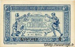 50 Centimes TRÉSORERIE AUX ARMÉES FRANCE  1917 VF.01.17 pr.SPL