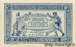 50 Centimes TRÉSORERIE AUX ARMÉES FRANCE  1919 VF.02.01 SPL