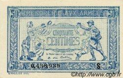 50 Centimes TRÉSORERIE AUX ARMÉES FRANCE  1919 VF.02.02 SPL+