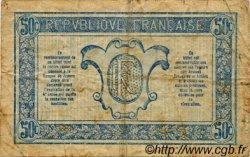 50 Centimes TRÉSORERIE AUX ARMÉES FRANCE  1919 VF.02.07 pr.TB