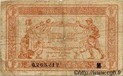 1 Franc TRÉSORERIE AUX ARMÉES FRANCE  1917 VF.03.13 B+