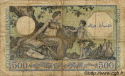500 Francs ALGÉRIE SURCHARGÉ FRANCE  1943 VF.09.01 B
