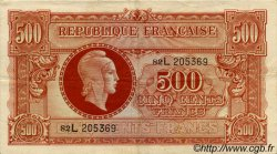 500 Francs MARIANNE FRANCE  1945 VF.11.01 TTB+ à SUP