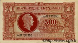 500 Francs MARIANNE FRANCE  1945 VF.11.02 SUP