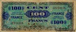 100 Francs FRANCE FRANCE  1944 VF.25.04 B+