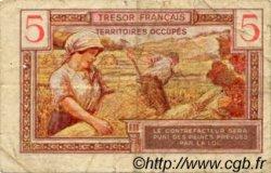5 Francs TRÉSOR FRANÇAIS FRANCE  1947 VF.29.01 TB