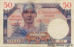 50 Francs TRÉSOR FRANCAIS FRANCE  1947 VF.31.01 TTB