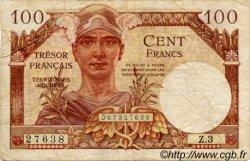 100 Francs TRÉSOR FRANCAIS FRANCE  1947 VF.32.01 TB à TTB