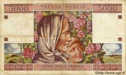 50 NF sur 5000 Francs TRÉSOR PUBLIC FRANCE  1960 VF.39.01 TTB