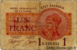 1 Franc FRANCE  1920 VF.51.01 B