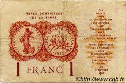 1 Franc FRANCE  1920 VF.51.01 pr.TTB