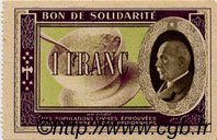 1 Franc FRANCE régionalisme et divers  1941 KL.02A SPL